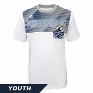 Vancouver Whitecaps FC adidas Youth City Pulse Tee - White