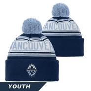 Vancouver Whitecaps FC adidas Youth Cuffed Knit Pom Beanie Hat