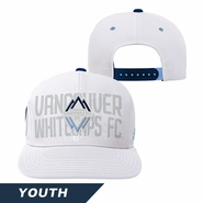 Vancouver Whitecaps FC adidas Youth Draft Snapback Hat - White
