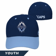 Vancouver Whitecaps FC adidas Youth Flex Hat - Blue