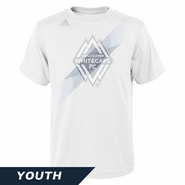 Vancouver Whitecaps FC adidas Youth Launchpad Tee - White