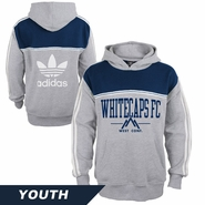 Vancouver Whitecaps FC adidas Youth Pullover Hoody - Grey
