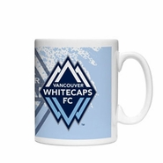 Vancouver Whitecaps FC Boelter 15oz Splatter Coffee Mug - White