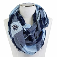 Vancouver Whitecaps FC Buffalo Checker Infinity Scarf - Blue