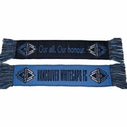 Vancouver Whitecaps FC Car Novelty Scarf - Blue