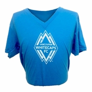 Vancouver Whitecaps FC Highlighter V-Neck Tee - Blue