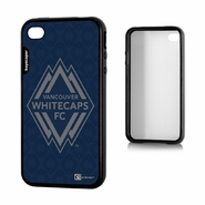 Vancouver Whitecaps FC Keyscaper Primary Logo iPhone 4/4S Bumper Case - Navy