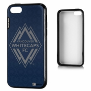 Vancouver Whitecaps FC Keyscaper Primary Logo iPhone 5C Bumper Case - Navy