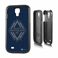 Vancouver Whitecaps FC Keyscaper Primary Logo Samsung Galaxy S4 Rugged Case - Navy