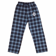 Vancouver Whitecaps FC Logo Plaid Flannel Pants - Navy