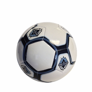Vancouver Whitecaps FC Mini Ball - White - Click to enlarge