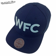 Vancouver Whitecaps FC Mitchell & Ness 3D WFC Tonal Snapback Hat - Navy