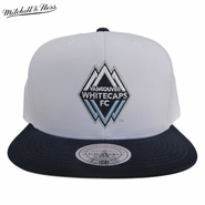 Vancouver Whitecaps FC Mitchell & Ness Memory Snapback Hat - White