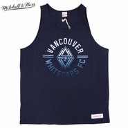 Vancouver Whitecaps FC Mitchell & Ness Men's Playoff Tank - Blue