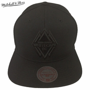 Vancouver Whitecaps FC Mitchell & Ness Primary Solid Black Snapback Hat