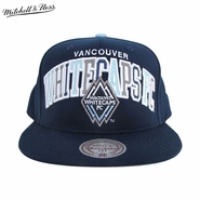 Vancouver Whitecaps FC Mitchell & Ness Reflect Arch Snapback Hat - Blue