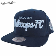 Vancouver Whitecaps FC Mitchell & Ness Special Script Snapback Hat - Blue