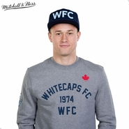 Vancouver Whitecaps FC Mitchell & Ness Team History Long Sleeve Crew - Grey