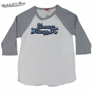 Vancouver Whitecaps FC Mitchell & Ness Women's Team Raglan - White/Grey