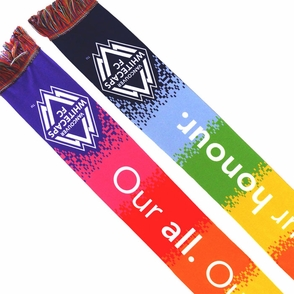 Vancouver Whitecaps FC Ruffneck Pride Scarf - Click to enlarge