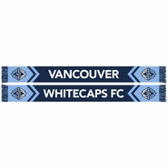 Vancouver Whitecaps FC Ruffneck V End Scarf - Navy