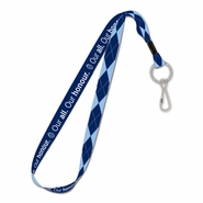 Vancouver Whitecaps FC WinCraft Our All Our Honor Argyle Lanyard - Blue