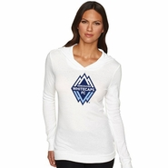 Vancouver Whitecaps FC Women's Thermal Long Sleeve Hoody - White