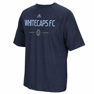 Vancouver Whitecaps FC adidas Authentic Climalite Tee - Navy