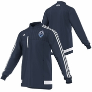 Vancouver Whitecaps FC adidas 2015 Anthem Jacket - Navy