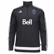 Vancouver Whitecaps FC adidas Climawarm 2015 1/2 Zip Training Top - Navy