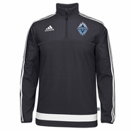 Vancouver Whitecaps FC adidas 2015 1/2 Zip Training Top - Navy <br><b><i>Pre-Order: Will ship Wednesday, March 11th</i></b>