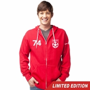 Vancouver Whitecaps FC 40th Anniversary '74 Full Zip Hoody - Red