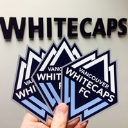 Vancouver Whitecaps FC Match Day Magnets Set (3)
