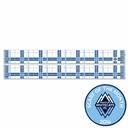 Vancouver Whitecaps FC Ruffneck White Tartan Scarf<br><b><i>Exclusive Scarf of the Month: October 2014</i></b>