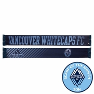 Vancouver Whitecaps FC adidas Sublimated Scarf - Navy/Blue<br><b><i>Exclusive Scarf of the Month: September 2014</i></b>