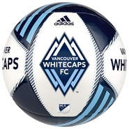 Vancouver Whitecaps FC adidas Tropheo Size 5 Soccer Ball - Blue