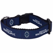 Vancouver Whitecaps FC Allstar Dogs Pet Collar - Navy
