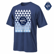 Whitecaps FC 2 Triangle Tee - Navy
