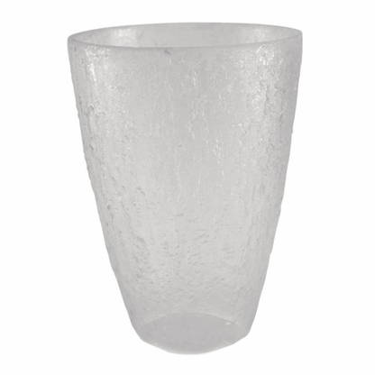 The clear Block Tritan™ highball glass holds 18 fl ounces and features a stone texture design.
