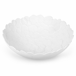 Botanical Leaf Melamine Large Serving Bowl