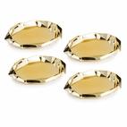 Gold Rock Appetizer Plate Set