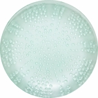 Ocean Translucent Teal Dinner Plate
