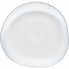 Pebble Clear Plastic Appetizer Plate