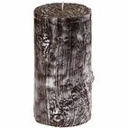 Twig Pillar Candle
