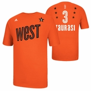 Phoenix Mercury adidas 2013 WNBA Western All-Star Diana Taurasi Name & Number Tee - Orange