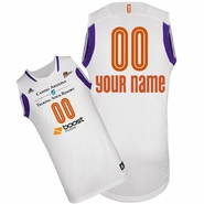 Phoenix Mercury adidas Revolution Custom Player Replica Home Jersey - White<br><b><i>Choose a player or Personalize your jersey!</i></b><br>