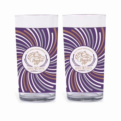 2013 Official Breeders' Cup Collector's Glass  2-Pack