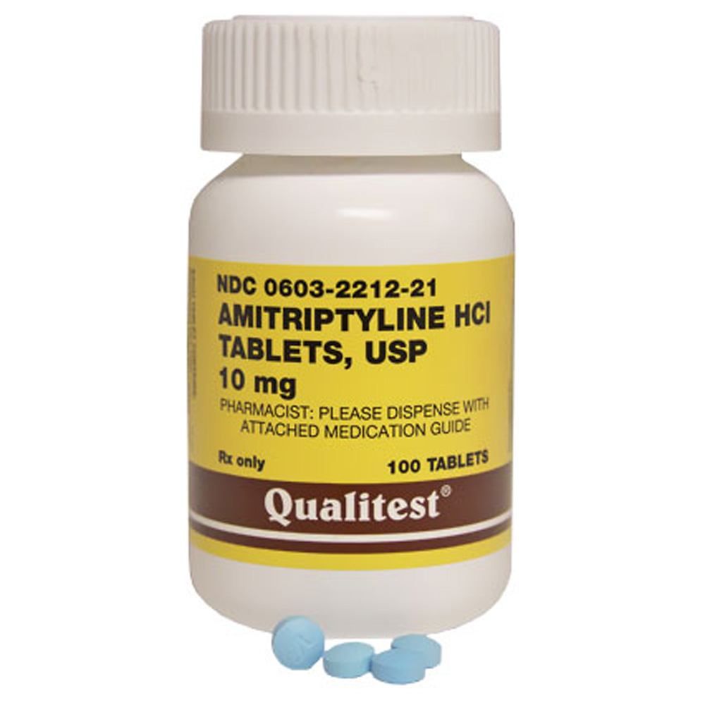 How amitriptyline is used as an off label treatment for
