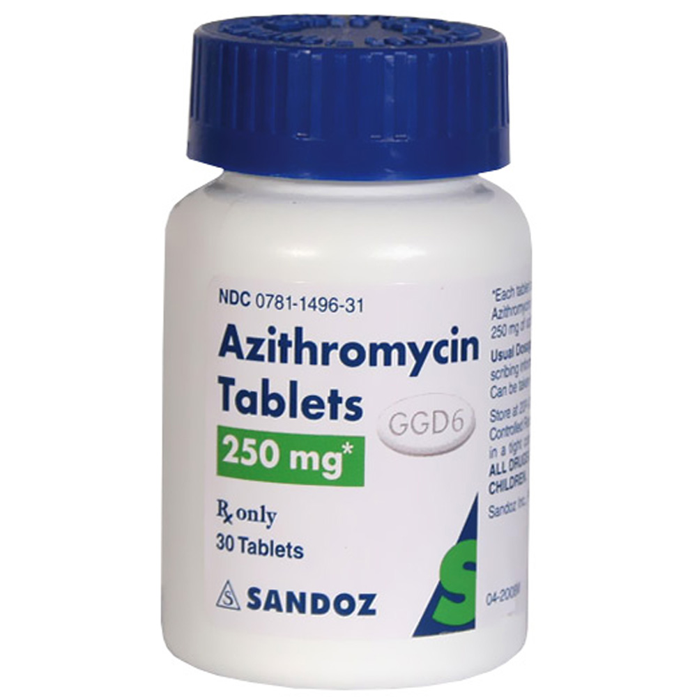 What is azithromycin 500 mg tablets prescribed for
