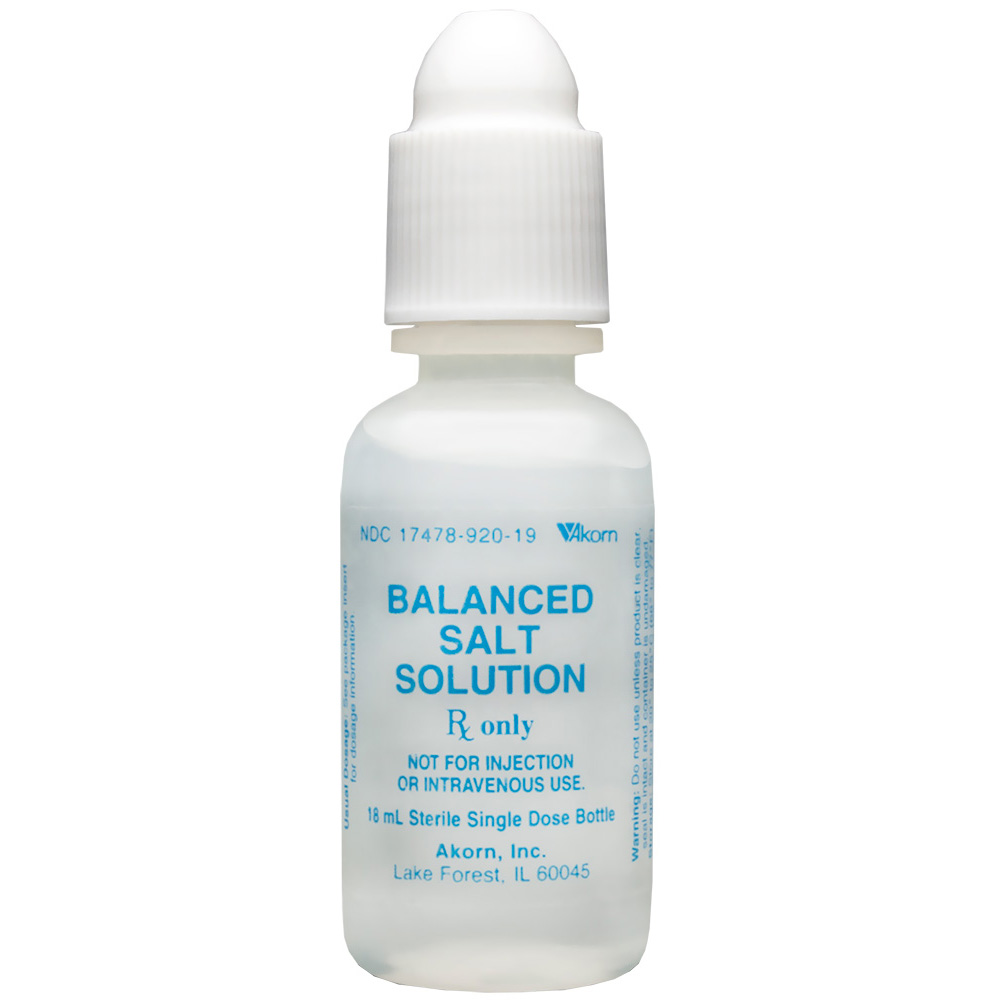Balanced Salt Solution 15ml (Manufacture may vary)